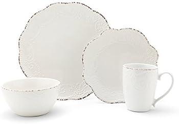 16-Piece Pfaltzgraff Everly Stoneware Dinnerware Set