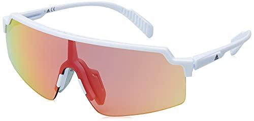 adidas SP0028, Gafas Unisex Adulto, Color Blanco, Talla única