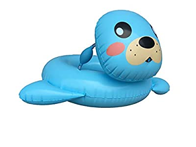 Big summer Inflatable Sea Lion Pool Float with Spray, Squirter Pool Toys for Kids Aged 3-5 Years