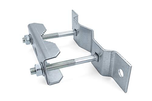 A.S.SAT Universal Rohrschelle 42-60mm Stahl feuerverzinkt Mastschelle universal