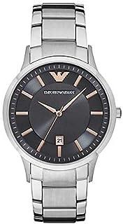 Emporio Armani AR2514 Men's Renato Stainless Steel Bracelet Watch 43mm