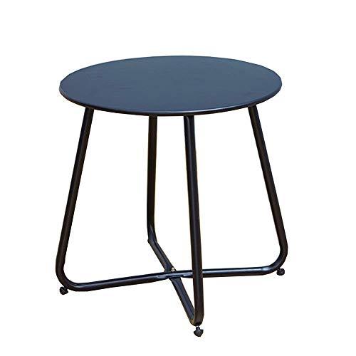 Carl Artbay Home & Selected furniture/rond mini bijzettafel voor woonkamer balkon keuken vrije tijd slaapkamer hoektafel D45 x H45 cm (kleur: rood)