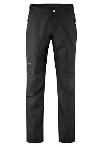 maier sports Herren Regen Überhose Raindrop Schwarz (Black 900) , 52