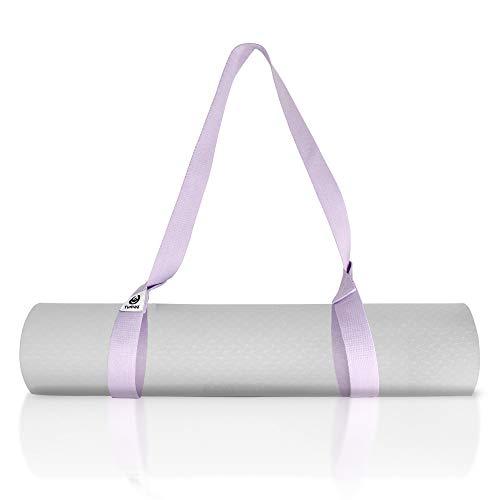 Tumaz Tragegurt für Yogamatten- [Mat Nicht enthalten] Gurt zum Tragen von Sport und Gymnastik Matte (15+ Farben, 2 Größenoptionen) mit extra Dicker, haltbarer und bequemer, feiner Textur