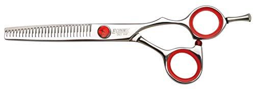 "Professional Hair Scissors 5.75 inch Thinning Scissors 27 Teeth Blender Shear Single Blade Comfort Handle Stainless Steel Japanese Craft (5.75"" Thinner)"