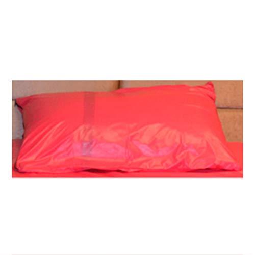 FQLZ Erwachsene Spiele für Paare Sex Sex Bettwäsche Blatt Ölfestes Spa-Matratze Bettbezug Leidenschaft liefert Paar Liebesspiele Spielen Verbessern Glück cool Pink50cm*70cm(X2)