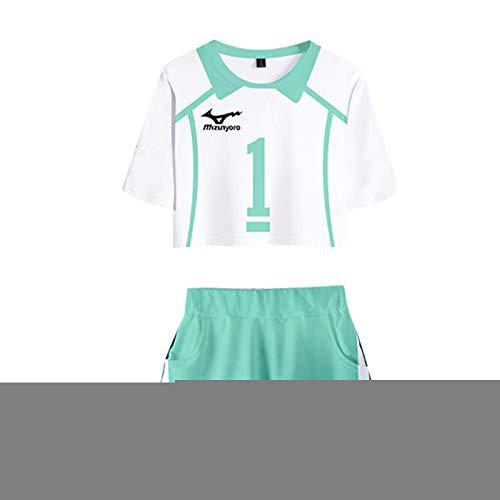 S-vision Haikyuu Short Wear Sportswear Disfraz Cosplay Traje Anime Carcter Uniforme para Navidad H-Small