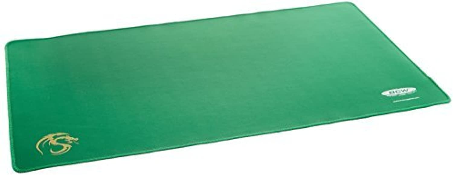 Green Play Mat with Stitched Edging by BCW
