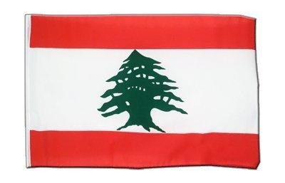 Libanon Flagge, libanesische Fahne 30 x 45 cm, MaxFlags®