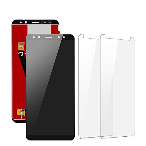 SHANCHU Schermo per Huawei Mate 10 Lite, LCD Touch Screen Completo, assemblato di Ricambio con Vetro temperato [Confezione da 2]