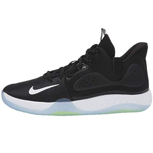 Nike KD Trey 5 VII Basketball Shoe (Black/Grey/Volt, Numeric_8_Point_5)