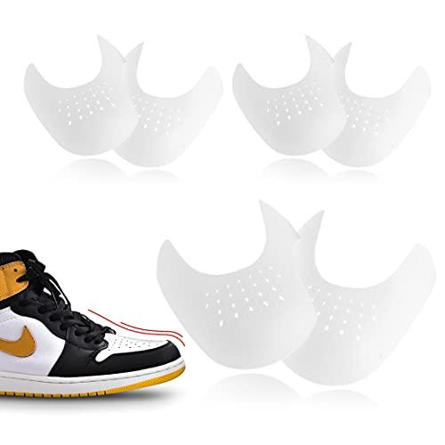 HONGECB Anti Falten Schuhe Schutz, Sportschuhe Schuhe Schilde, Gegen Schuhfalten, Zehe Box Schilde, Verhindern Turnschuhe Schuhe Falte Vertiefung, verhindern Schuhfalten EU 40-46, 3 Paar