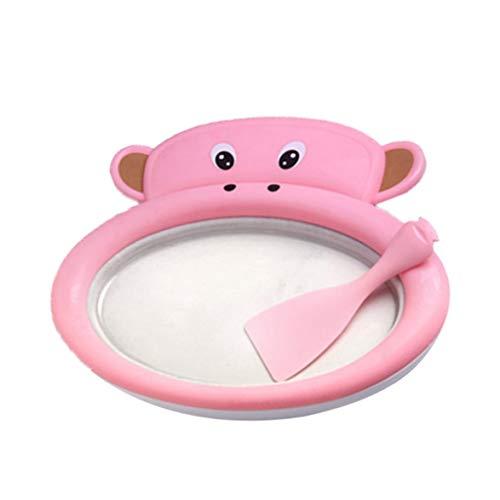 Find Bargain Pandamama Instant Fried Ice Cube Maker Machine DIY Yogurt Pan Homemade for Children