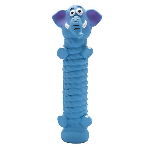 Petper Cw-0070EU Quietschendes Hundespielzeug aus Latex, Welpenspielzeug, lustiges Tier, interaktives Hundespielzeug