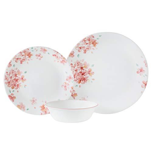 Corelle Boutique Adoria 12-Piece Dinnerware Set, Service for 4