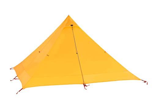 Desert Walker テント 軽量 ソロテント ワンポールテント キャンプテント 登山 テント 900g 防水に強い スーパー耐引裂性 防風 コンパクト設計 バッグ付き