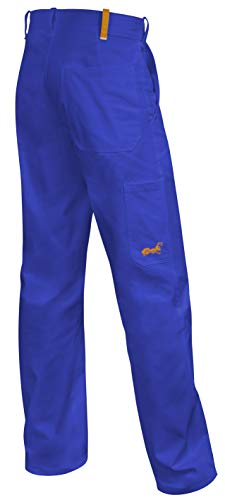 strongAnt®, werkbroek, eten, taillebroek, 260 g, made in EU, korenblauw