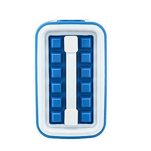36 Cuadrícula Plegable Bandeja de Hielo Silicona Almacenamiento Hervidor Caja Herramientas de Cocina Bloque Bloque Cubos