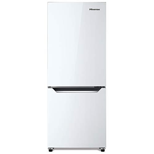ハイセンス 冷凍冷蔵庫(幅48cm) 150L 自動霜取機能付き 2ドア 右開き パールホワイト HR-D15C