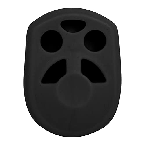 Keyless2Go Replacement for Silicone Cover Protective Case for 4 Button Remote Keys CWTWB1U722 OUCD6000022 (1 Pack) - Black
