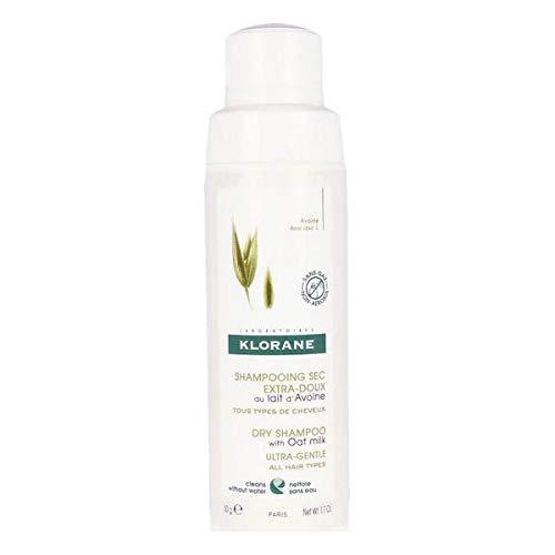 Klorane Ecologico Shampoo Secco Avena Con Latte - 86 ml