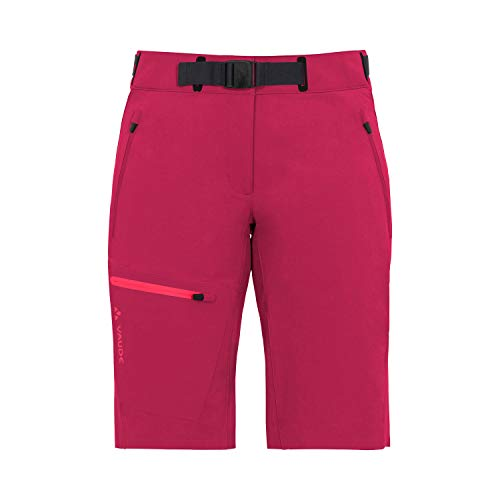 VAUDE Damen Hose Women\'s Badile Shorts, kurze Softshellhose, black, 38, 046319770380
