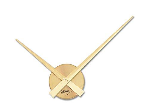 Graz Design Uhrwerk_GD Wanduhr Little Big Time Mini Gold