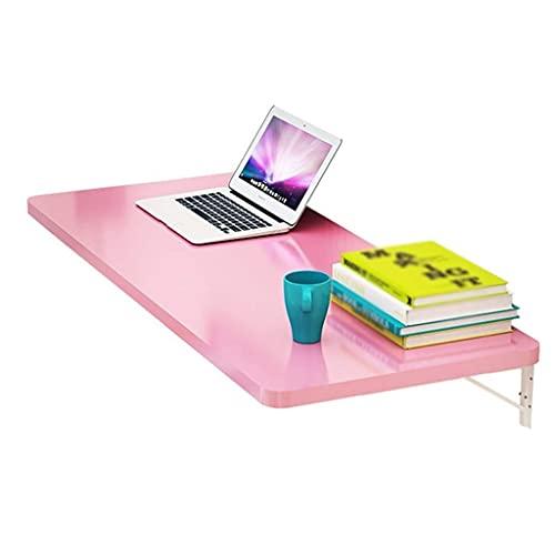 Mesa de hojas abatibles montada en la pared, mesa de comedor de cocina simple y plegable Escritorio de computadora Banco de trabajo de espacio pequeño Mesa de estante de almacenamiento para oficina /