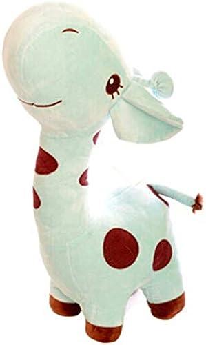 NOWPST Peluche Girafe Oreiller Peluche Animaux en Peluche Jouets en Peluche Cadeaux pour Enfants Hauteur Fauve 80Cm
