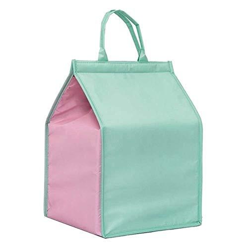 A+TTXH+L Bolsas térmicas Plegable grande Bolsa nevera portátil torta del alimento aislado bolsa de papel de aluminio Térmico Caja impermeable bolsa de hielo bolsa de la caja de almuerzo de entrega #7