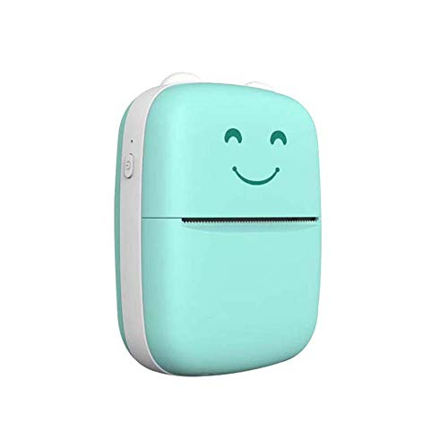 SRMTS Portable Wireless Printer Mini Thermal Printer With Roll Thermal Paper for Printing Error Photo Memo Sticker Label