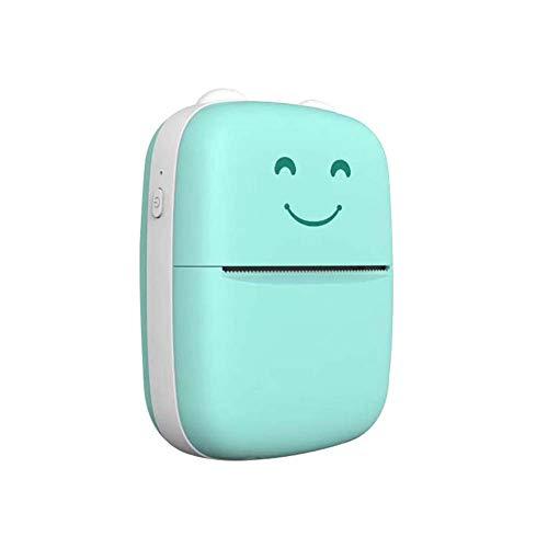 LIPETLI Portable Wireless Printer Mini Thermal Printer With Roll Thermal Paper for Printing Error Photo Memo Sticker Label