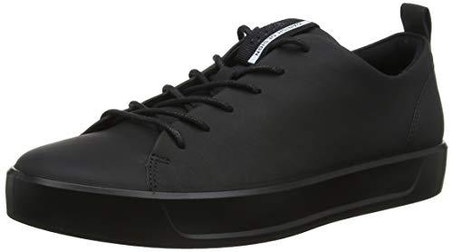 Ecco Soft 8 Men's Sneaker Herren, Schwarz(Black 11001), 40 EU
