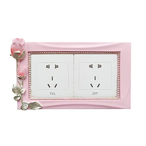 Pegatinas para interruptor de pared, decoración moderna minimalista (color: D)