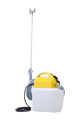 工進(KOSHIN) 電気式 噴霧器 タンク 10L ガーデンマスター GT-10V ハイパワー AC 100V 防除 消毒 散布 肩掛け 家庭 お庭 手軽 簡単 高木