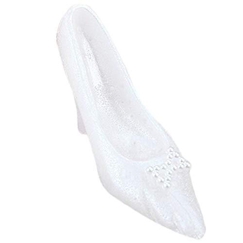 JUSTDOLIFE bruiloft taart kaars kristallen schoenen vorm taart kaars decoratieve kaars