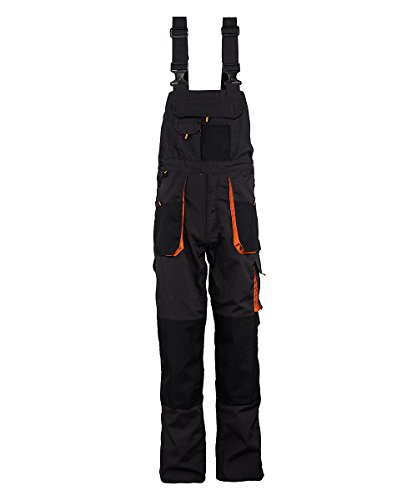 Stenso Emerton® - Pantalones con Peto de Trabajo para Hombre - Resistentes -...