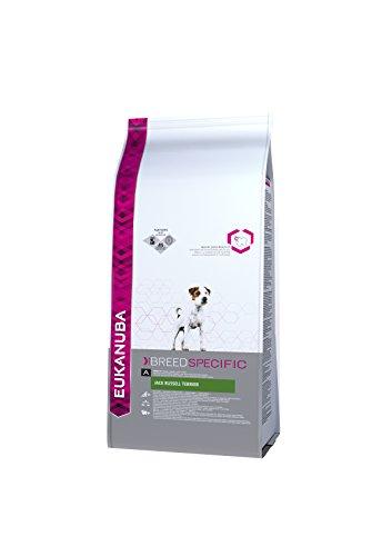 Eukanuba Breed Specific Jack Russel Terrier Trockenfutter  - optimal auf die Rasse abgestimmtes Premium Hundefutter mit Huhn, 2 kg