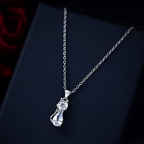DODO.GOGO Halskette Ohrringe süße süße einfache Satz Anhänger Ohrringe Schlüsselanhänger Kette
