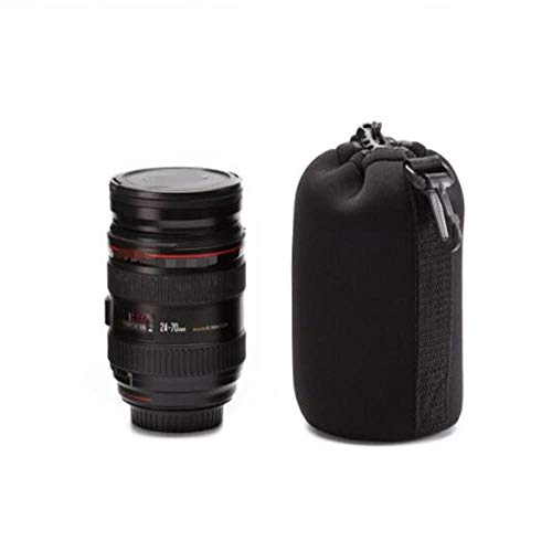 DIODIOR Borsa per Obiettivo per Fotocamera Custodia in Neoprene Impermeabile Morbida Videocamera Custodia per Obiettivo Custodia per Fotocamera Full S