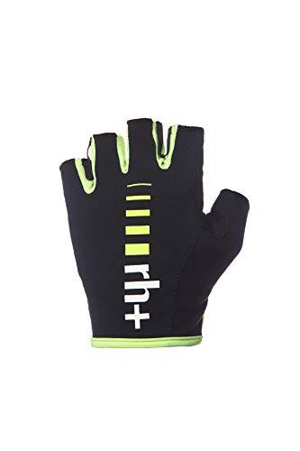 Zero Rh+ New Code, Abbigliamento Bike Glove Unisex – Adulto, Black/Yellow Fluo, XL