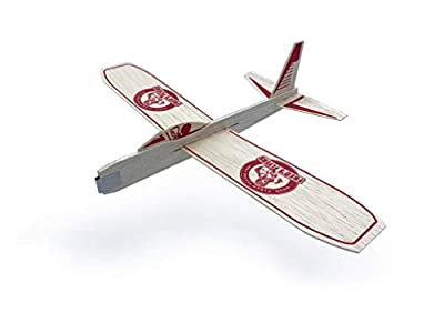 Fred's Flyers Balsa Wood Airplane Gliders – 5 Pack – Made in USA – Guaranteed to Arrive Unbroken