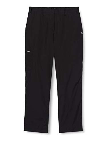 Craghoppers Kiwi II Pantalon de Jambe Courte, Femme, Kiwi II Short Leg, Noir, Taille 42
