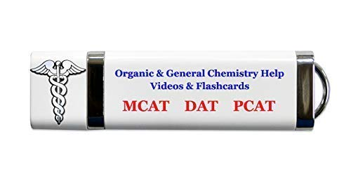 Chemistry review for mcat, dat or pcat: general and organic chemistry condensed review videos (over 23 hours) and flash cards. 2018 2019 exam prep for mcat dat or pcat. Video is better than books.