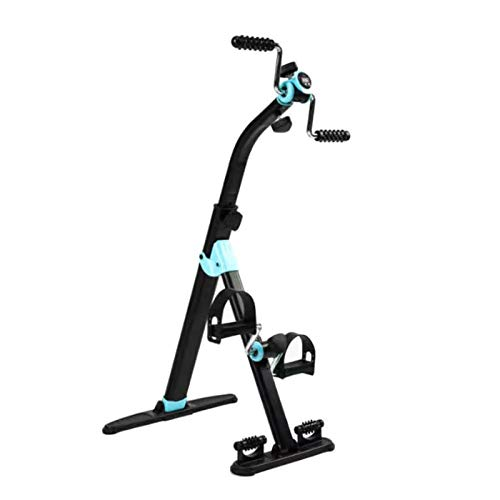 ZXFF Máquina De Rehabilitación del Ejercicio De Pedal, Un Ejercicio De Pedal Adecuado para Cualquier Persona, Un Entrenador De Rehabilitación De Hogar para Ahorro De Espacio