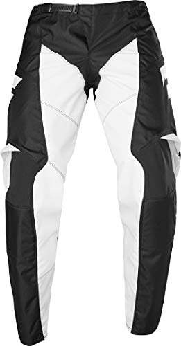 2020 Shift White Label Race 1 Pants-Black/White-34