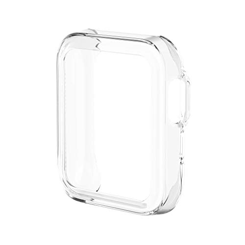 YUYAN Carcasa protectora de TPU ultrafina, carcasa protectora para Xiaomi Mi Watch Lite versión global para Redmi Watch Accesorios