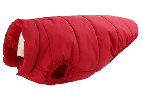 Sunnykud Hundemantel Jacke Winddicht Hund Jacken mit Geschirr Loch Warm Hund Kleidung Mantel Jacke Hundeweste für Kleine Medium Große Hunde Hundepullover