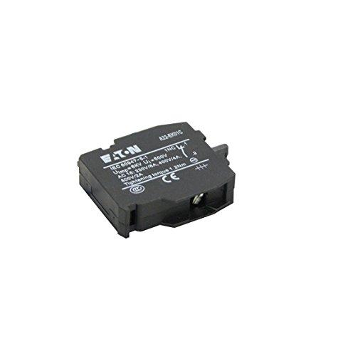 Eaton A22-EK01 254455 Kontaktelement 1 Schaltglied Hilfsschalterblock Zubehör mit Schraubanschluss