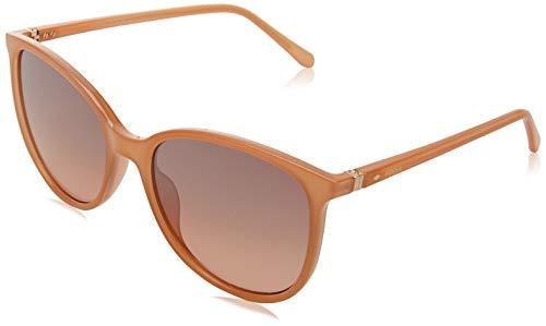 Fossil FOS 3099/S gafas de sol, Beige, 55 para Mujer